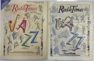Lot 84 - BUSH HOLLYHEAD ORIGINAL WORK - RADIO TIMES JAZZ WEEK COVER.