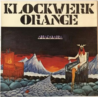 Lot 3-KLOCKWERK ORANGE - ABRAKADABRA LP (ORIGINAL AUSTRIAN PRESSING - CBS S 81 119)