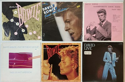 Lot 1082 - DAVID BOWIE + FRIENDS - LPs & 12""