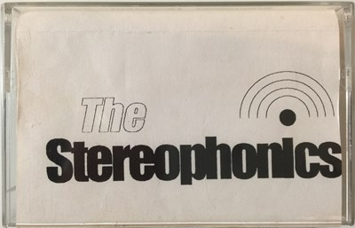 Lot 32-THE STEREOPHONICS - A THOUSAND TREES/CHECK FOR HOLES DEMO CASSETTE