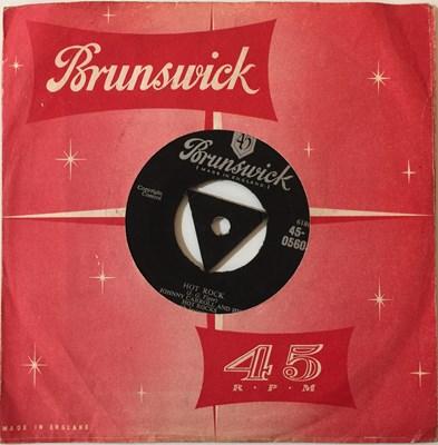 Lot 34-JOHNNY CARROLL AND HIS HOT ROCKS - CRAZY, CRAZY LOVIN' 7'' (ORIGINAL UK PRESSING - BRUNSWICK 45-05603)
