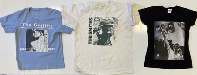 Lot 117 - THE SMITHS T-SHIRTS.