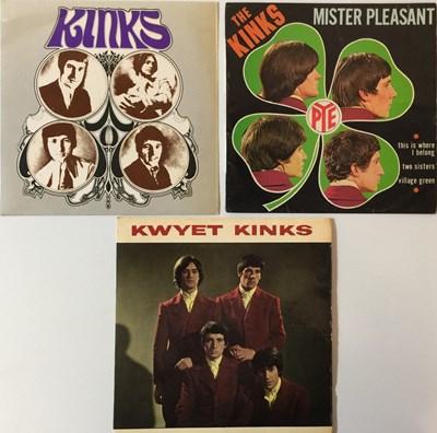 Lot 38-THE KINKS - EPs