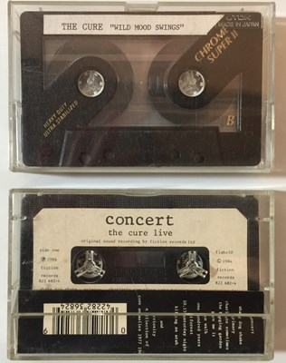 Lot 40-THE CURE - CASSETTES (WITH DEMO)