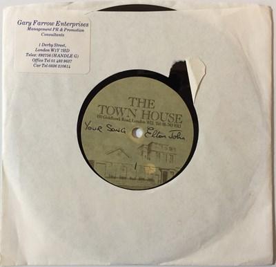 Lot 41-ELTON JOHN - YOUR SONG 7'' ACETATE (THE TOWN HOUSE STUDIOS)