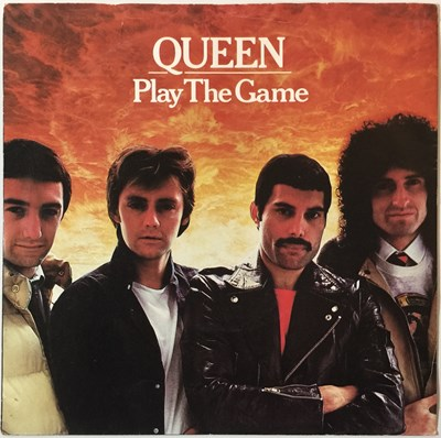 Lot 43-QUEEN - PLAY THE GAME 7'' (UK WHITE LABEL PROMO - EMI 5076)