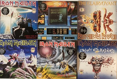 Lot 44-IRON MAIDEN - THE FIRST TEN YEARS COLLECTION - 12'' BOX SET