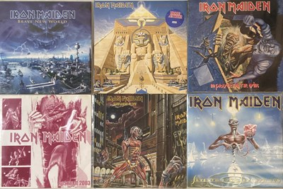 Lot 45-IRON MAIDEN - LP COLLECTION