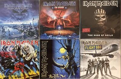 Lot 47-IRON MAIDEN - LPs (RECENT RELEASES/REISSUES)