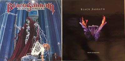 Lot 48-BLACK SABBATH - DEHUMANIZER & CROSS PURPOSES (ORIGINAL PRESSING LPs)