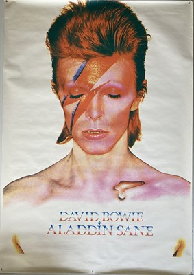 Lot 378 - DAVID BOWIE ALADDIN SANE POSTER.
