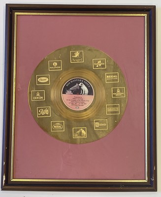 Lot 91 - MEMORABILIA FROM A LONG SERVING EMPLOYEE AT EMI, HAYES INC PRESENTATION DISCS.