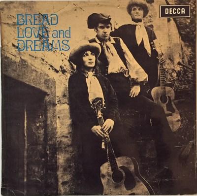 Lot 6-BREAD LOVE AND DREAMS - BREAD LOVE AND DREAMS LP (ORIGINAL UK MONO PRESSING - DECCA LK 5008)
