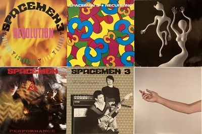 Lot 2 - SPACEMEN 3/ SPIRITUALIZED - LPs/ 12""