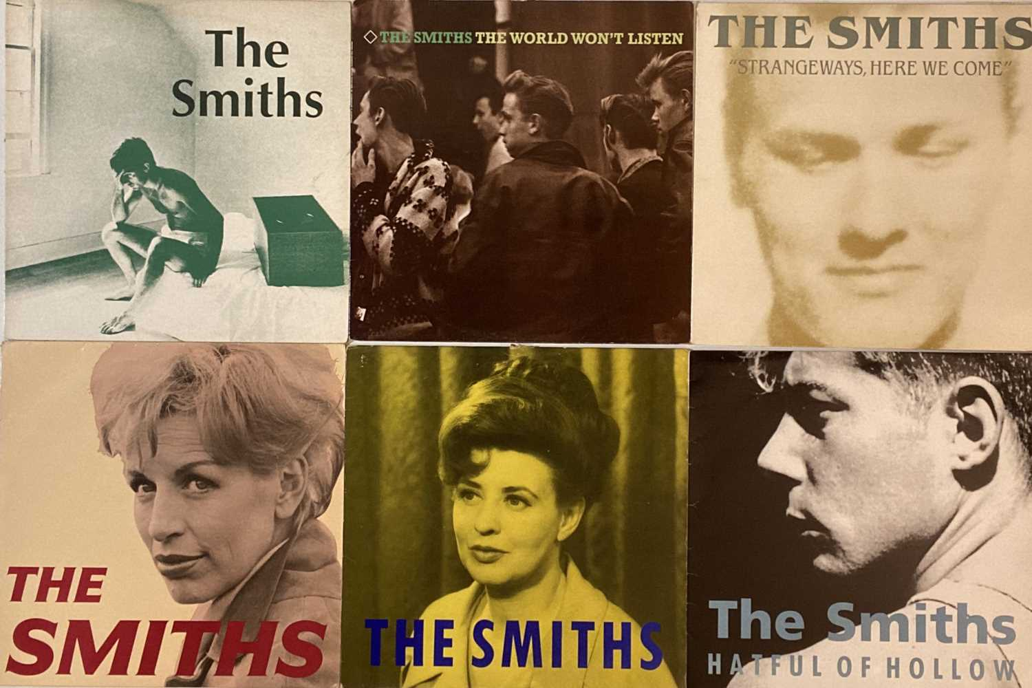 """Lot 3 - THE SMITHS/ MORRISSEY - LPs/ 12"""""""