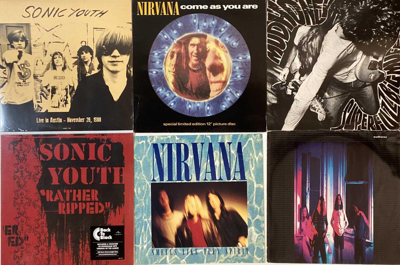 """Lot 4 - ALT ROCK/ GRUNGE - LPs/ 12"""""""