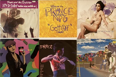 """Lot 6 - PRINCE - LPs/ 12"""" COLLECTION"""