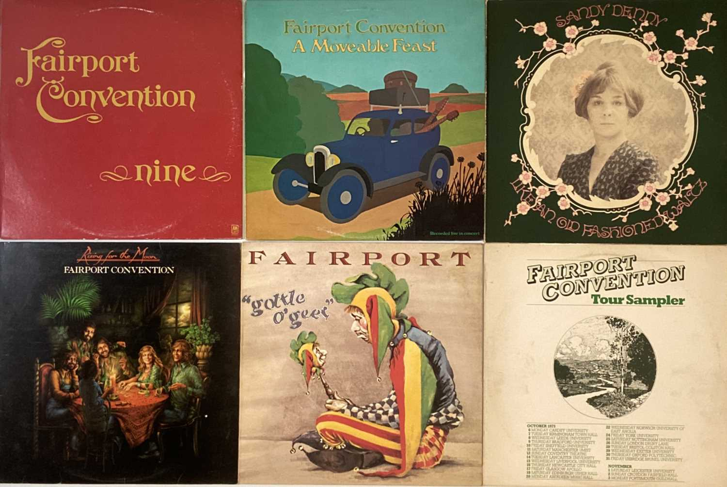 Lot 14 - FAIRPORT CONVENTION AND RELATED LPs