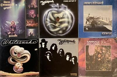 Lot 20 - METAL/ HEAVY ROCK - LPs
