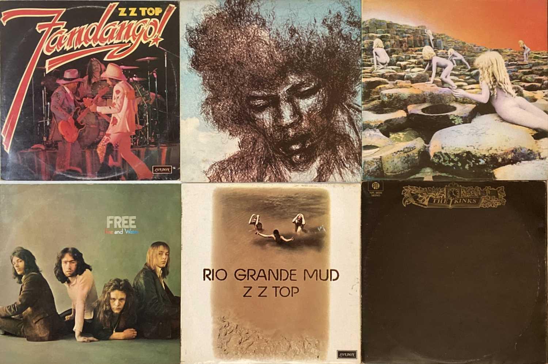Lot 21 - CLASSIC/ BLUES ROCK - LPs