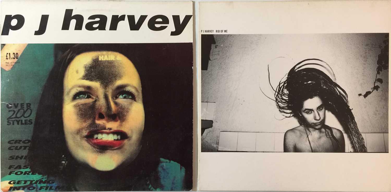 """Lot 28 - PJ HARVEY - RID OF ME LP/ SHEELA-NA-GIG 12"""""""