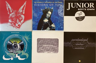 """Lot 29 - ELECTRONIC/ INDUSTRIAL - LPs/ 12"""" COLLECTION"""