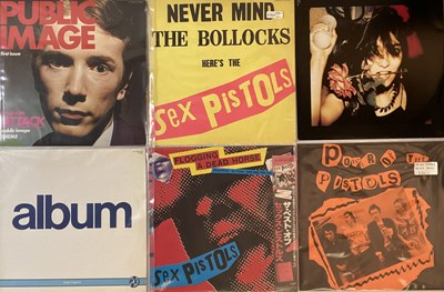 Lot 33 - SEX PISTOLS AND RELATED - LPs