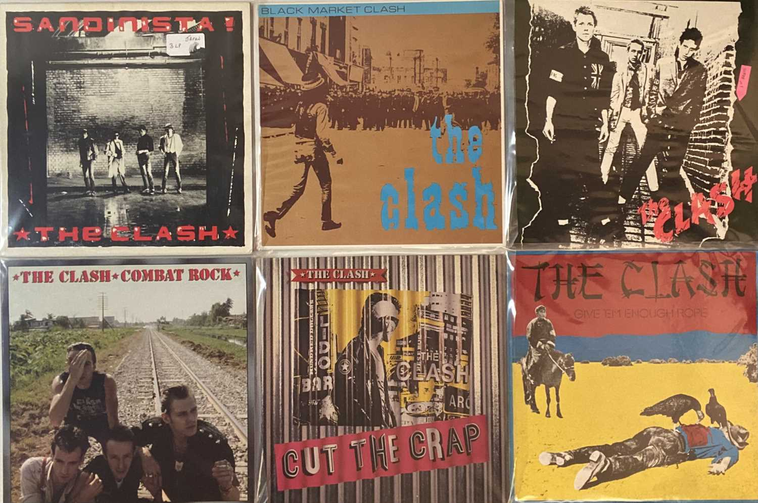 """Lot 35 - THE CLASH - JAPANESE LPs/ 12"""""""