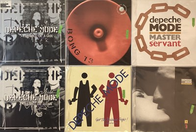 "Lot 36 - DEPECHE MODE - LPs/ 12"" COLLECTION"