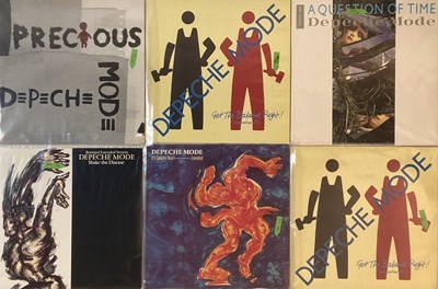 """Lot 36 - DEPECHE MODE - LPs/ 12"""" COLLECTION"""