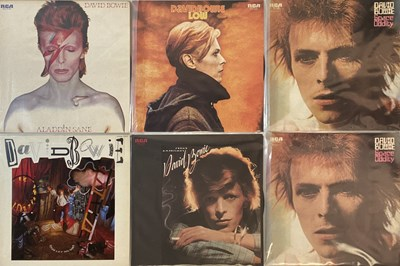 Lot 38 - DAVID BOWIE - JAPANESE LPs