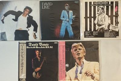 Lot 38 - DAVID BOWIE - JAPANESE LPs