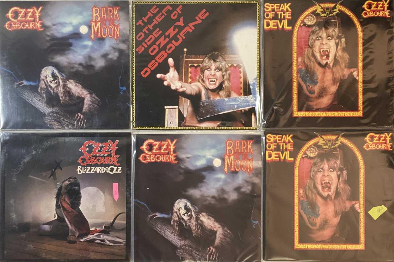 Lot 40 - OZZY OSBOURNE - LPs