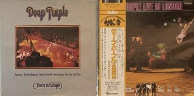 Lot 41 - DEEP PURPLE - JAPANESE LPs
