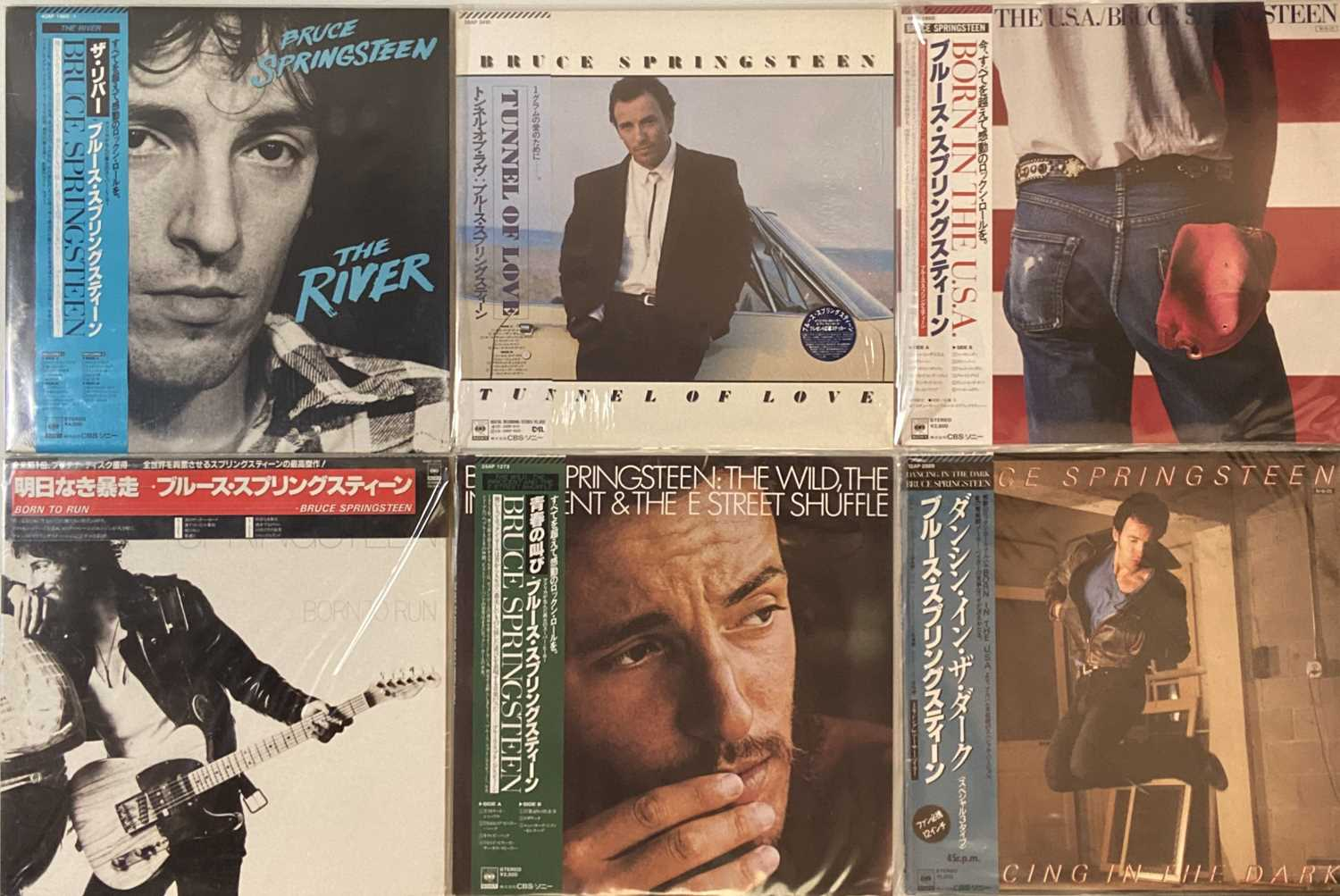 Lot 43 - BRUCE SPRINGSTEEN - JAPANESE LPs