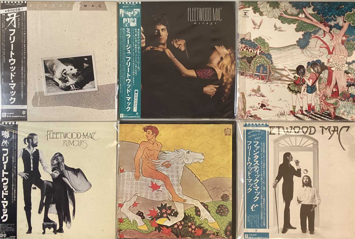 Lot 44 - FLEETWOOD MAC AND RELATED - JAPANESE LPs