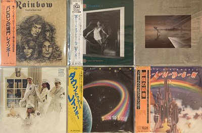 Lot 47 - HEAVY ROCK/ METAL - JAPANESE LPs