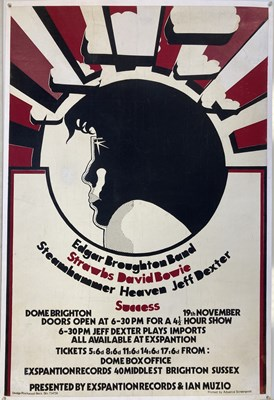 Lot 415A - 1969 DAVID BOWIE BRIGHTON POSTER.