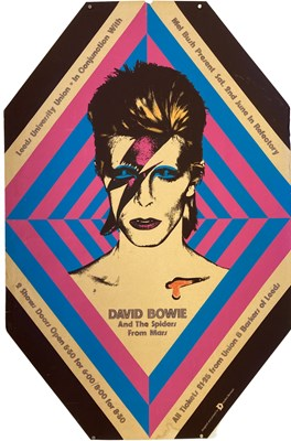 Lot 415B - 1973 DAVID BOWIE ZIGGY STARDUST POSTER.
