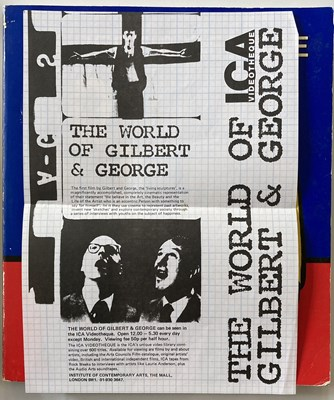 Lot 3 - GILBERT AND GEORGE SIGNED ART BOOKS.
