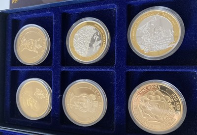 Lot 16 - WINDSOR MINT ETC - COLLECTABLE COIN SETS.