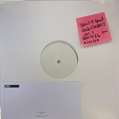 Lot 7 - SOUL II SOUL - CLUB CLASSICS VOL ONE LP (2020 WHITE LABEL TEST PRESSING - EMI 3507526)