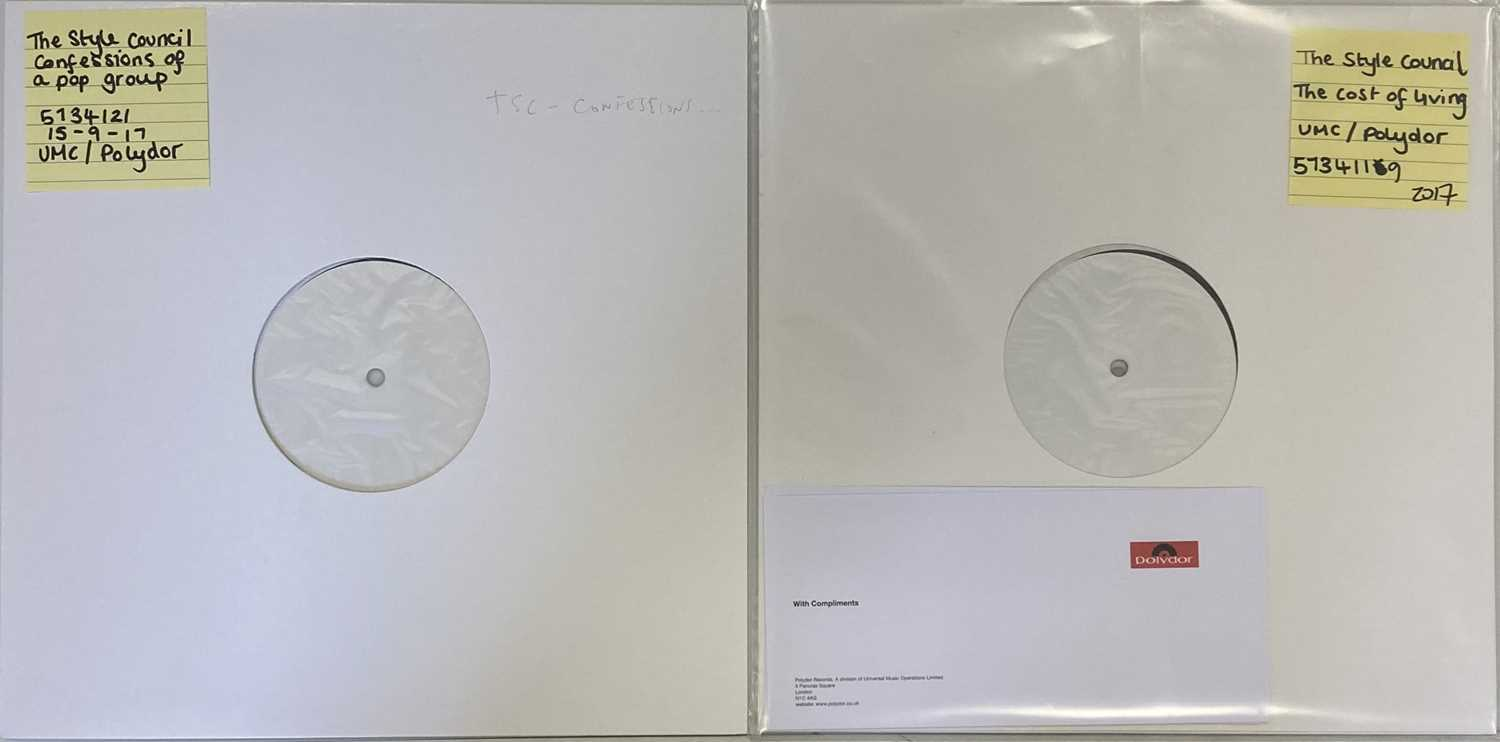 Lot 9 - THE STYLE COUNCIL - 2017 WHITE LABEL TEST PRESSING LPs