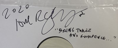 Lot 12 - THE CURE - WHITE LABEL TEST PRESSING LPs (INCLUDING ROBERT SMITH SIGNED)