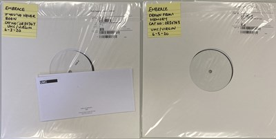 Lot 15 - EMBRACE - WHITE LABEL TEST PRESSING LPs (2020 PRESSINGS)