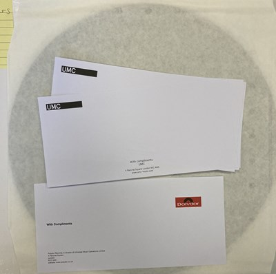 Lot 17 - CREAM/ERIC CLAPTON - WHITE LABEL TEST PRESSING LPs (INCLUDING ERIC CLAPTON SIGNED)