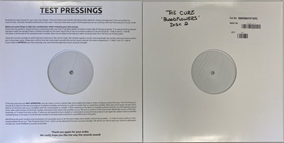 Lot 27 - THE CURE - BLOODFLOWERS LP (WHITE LABEL TEST PRESSING - FOR RSD 2020)