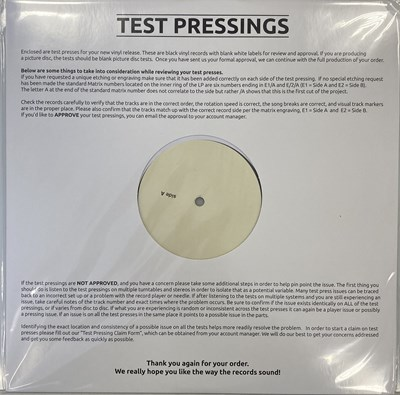 Lot 31 - KEVIN ROWLAND - MY BEAUTY LP (2020 WHITE LABEL TEST PRESSING)