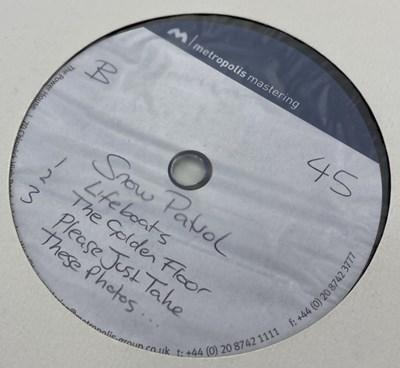 Lot 38 - SNOW PATROL - A HUNDRED MILLION SUNS LP (ACETATE RECORDING)