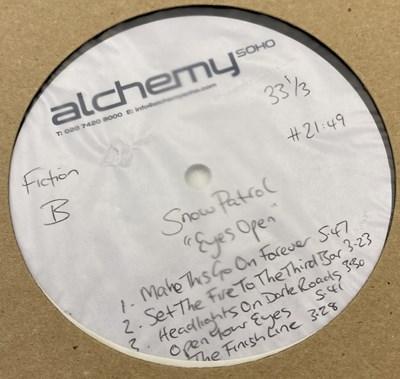 Lot 39 - SNOW PATROL - EYES OPEN LP (ACETATE RECORDING)
